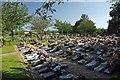 TQ6892 : Great Burstead Cemetery by Glyn Baker