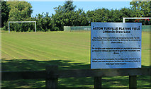ST8180 : 2012 : Acton Turville Playing Field by Maurice Pullin