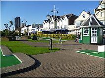SZ9398 : Crazy golf at Bognor Regis by Marathon