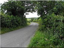 H5711 : Road at Cornavoggy by Kenneth  Allen