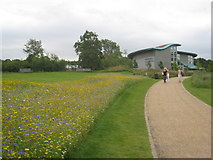 SE2853 : Wildflowers and Bramall Learning Centre, Harlow Carr by Jonathan Thacker