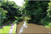 SO8275 : Staffordshire & Worcestershire Canal, Kidderminster by P L Chadwick
