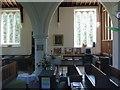 TL1554 : St Mary the Virgin, Roxton, Interior by Alexander P Kapp