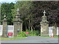 NZ2177 : Gateway to Blagdon Hall by JThomas