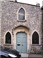 ST7345 : Door of former Wesleyan Chapel, Nunney by Rose and Trev Clough