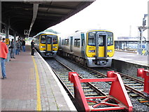W6872 : Train from Cobh arrives at Cork Kent Station by David Hawgood