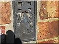 SE9059 : Ordnance Survey  Flush Bracket 11374 by Peter Wood