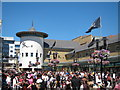TQ8109 : Pirate Day, Queen's Square by Oast House Archive