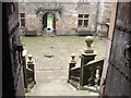 NU0625 : The Courtyard of Chillingham Castle by Derek Voller
