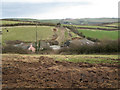 SX8553 : Roofs of Lapthorne Farm by Robin Stott