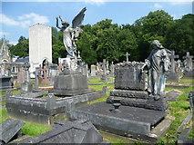 TQ2272 : Putney Vale Cemetery and Crematorium by Marathon