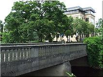 NT2273 : Bridge at Roseburn Park by Thomas Nugent