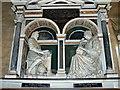 SU1084 : Monument, St Mary's Church, Lydiard Tregoze by Brian Robert Marshall