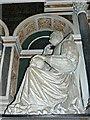 SU1084 : Lady Katherine Mompesson, St Mary's Church, Lydiard Tregoze by Brian Robert Marshall