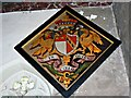 SU1084 : Another hatchment, St Mary's Church, Lydiard Tregoze, Swindon by Brian Robert Marshall