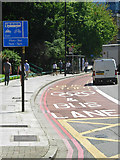 TQ3282 : Olympic lane on City Road by Stephen McKay