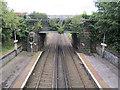 SJ3885 : Mersey Road railway bridge at Aigburth station by John S Turner