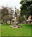 SJ8688 : Memorial Fountain, Queens Gardens by Gerald England
