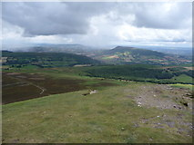 SO2718 : View eastwards off the Sugar Loaf by Jeremy Bolwell