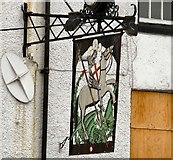 SJ8588 : Sign of George & Dragon by Gerald England