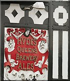 SJ8588 : Hydes Queen's Brewery Ales  by Gerald England