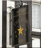 SJ8588 : Sign of The Star Inn by Gerald England