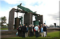 SP0788 : Newcomen Society visit to the Grazebrook engine by Chris Allen