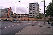 SU1584 : Former Swindon College, Regents Circus, Swindon 31.07.12 by Brian Robert Marshall