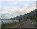 NN2803 : Loch Long and A83 close to Clach na h-Eighe by John Firth