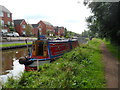 SJ8934 : Working Narrow Boat Hadar moored just north of Stone by Keith Lodge