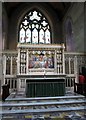 H8745 : The High Altar at St Patrick's Church of Ireland Cathedral, Armagh by Eric Jones