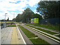 TL4554 : Trumpington - busway halt by Given Up