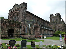 SJ3384 : A July visit to Christ Church, Port Sunlight (9)  by Basher Eyre