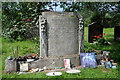 SO8871 : John Bonham's grave by Philip Halling