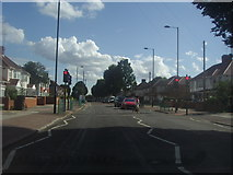 TQ1281 : Pedestrian lights on Lady Margaret Road, Southall by David Howard