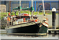 "C8432 : The ""Carrick Spray"" at Coleraine by Albert Bridge"