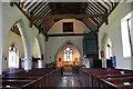 TQ6509 : Interior, St Mary Magdalene church, Wartling by Julian P Guffogg