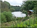 NT7028 : Fishing hut on the River Teviot by Oliver Dixon