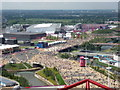 TQ3784 : Stratford: view over the Olympic Park by Chris Downer