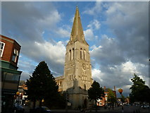 SP7387 : Church of St Dionysius Market Harborough by Dave Spicer