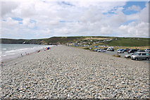 SM8421 : Newgale Sands by Andrew Hackney