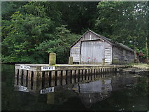 SD3898 : Belle Grange Boathouse - Windermere by Anthony Parkes