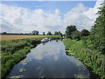 SE5726 : The Selby Canal at West Haddlesey by Ian S