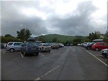 SX7087 : Car park in Chagford by David Smith