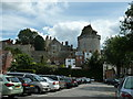 SU9677 : Car park with Castle view by Dave Spicer
