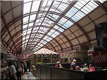 NZ2464 : Inside the Grainger Market, Newcastle upon Tyne by Graham Robson