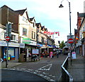 SS9992 : Pedestrianised part of Dunraven Street, Tonypandy by Jaggery