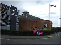 SK3635 : The Roundhouse, Derby College by JThomas