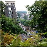ST5673 : Clifton - BS8 (Bridge etc) by David Hallam-Jones