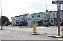 TQ5704 : Shops on Lewes Road, Polegate by Julian P Guffogg